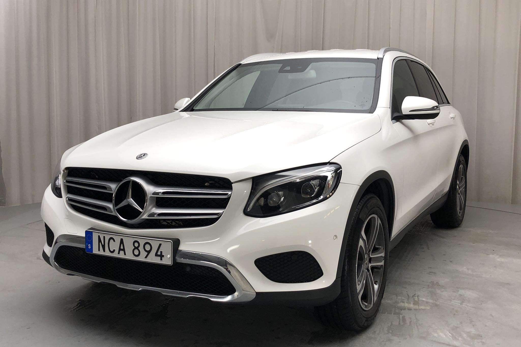 Mercedes GLC 220 d 4MATIC X253 (170hk) - 10 972 mil - Automat - vit - 2018