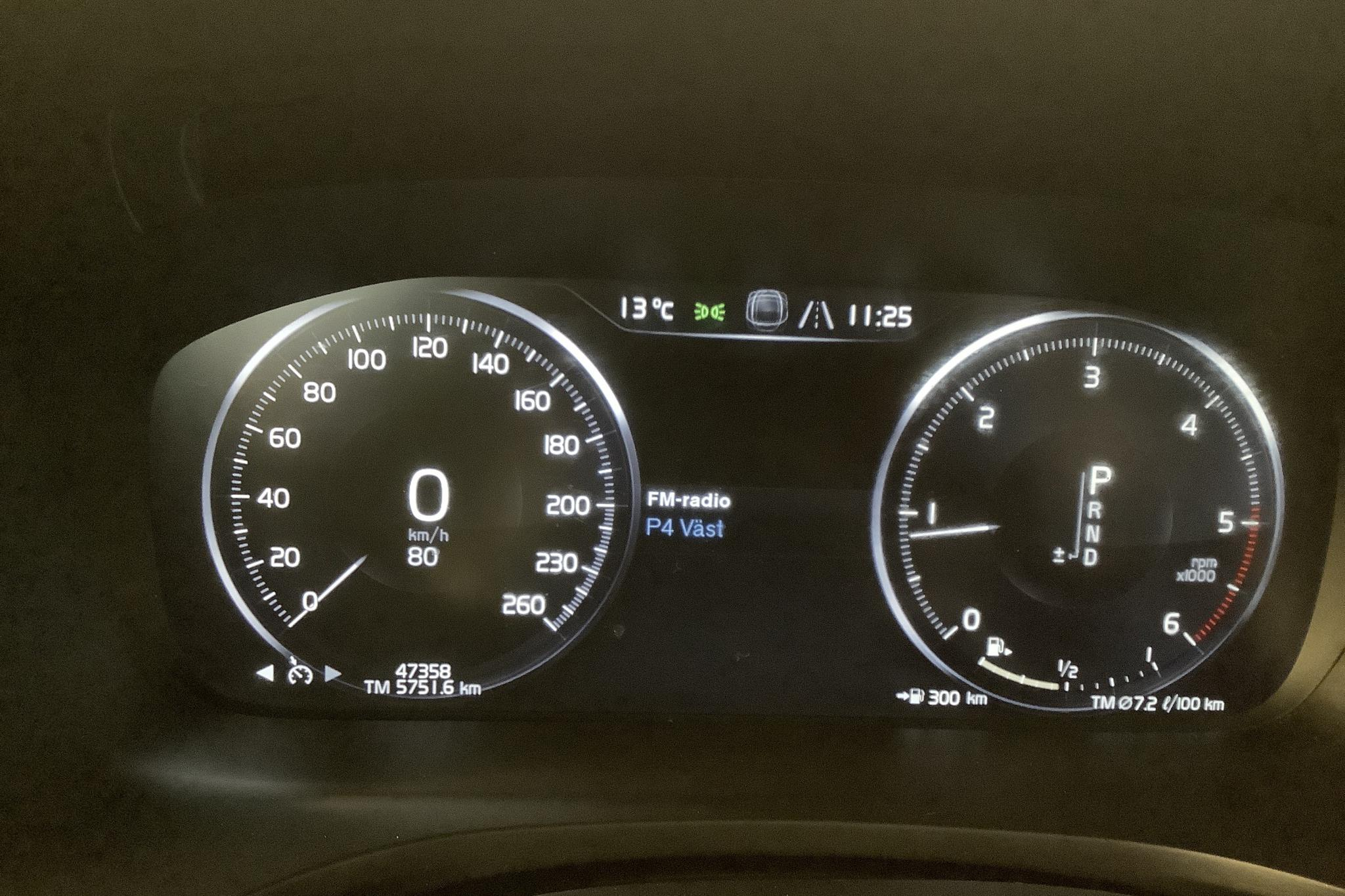 Volvo V60 D4 (190hk) - 47 350 km - Automatic - white - 2019