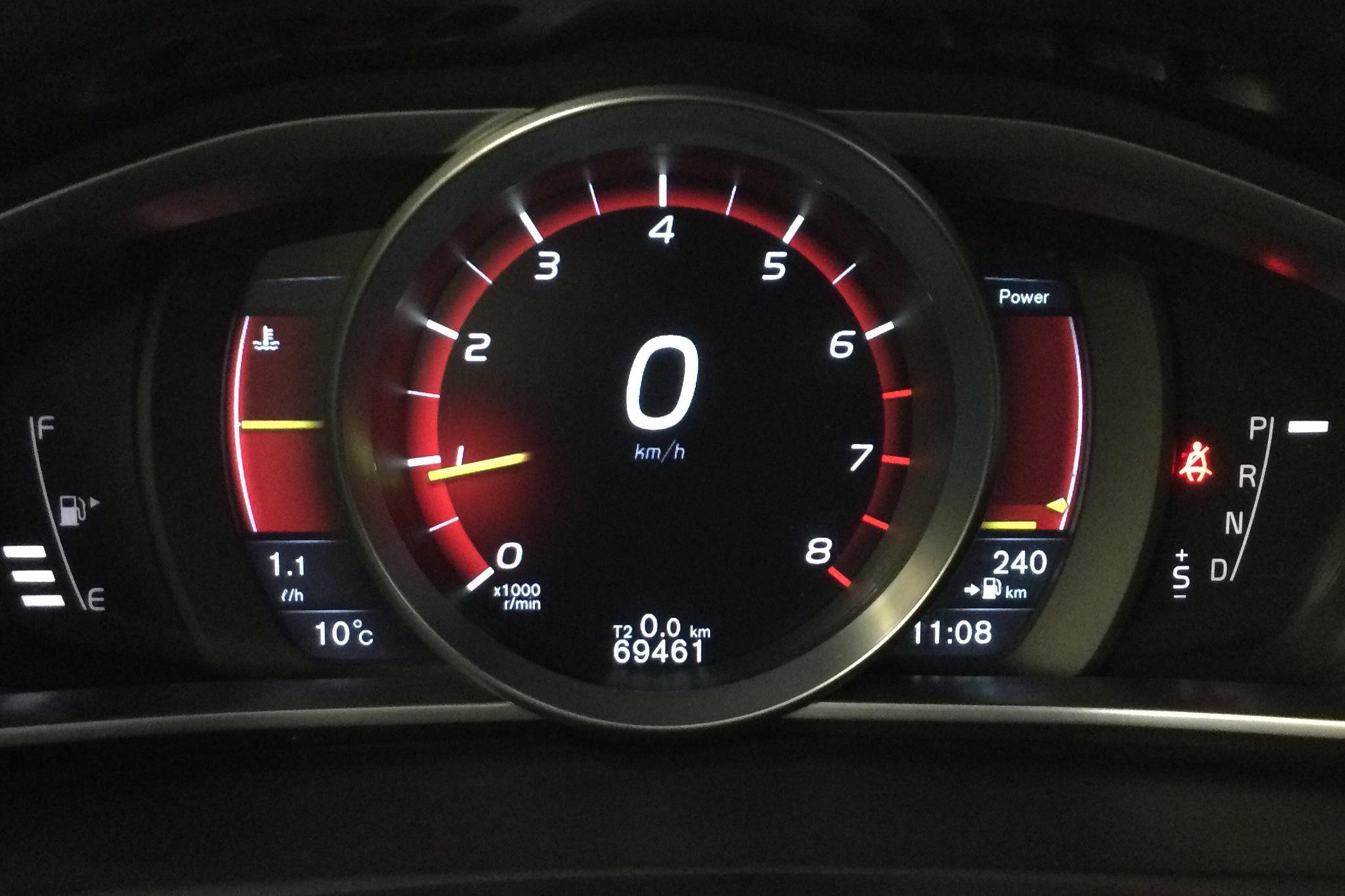 Volvo V40 T3 (152hk) - 69 460 km - Automatic - black - 2016