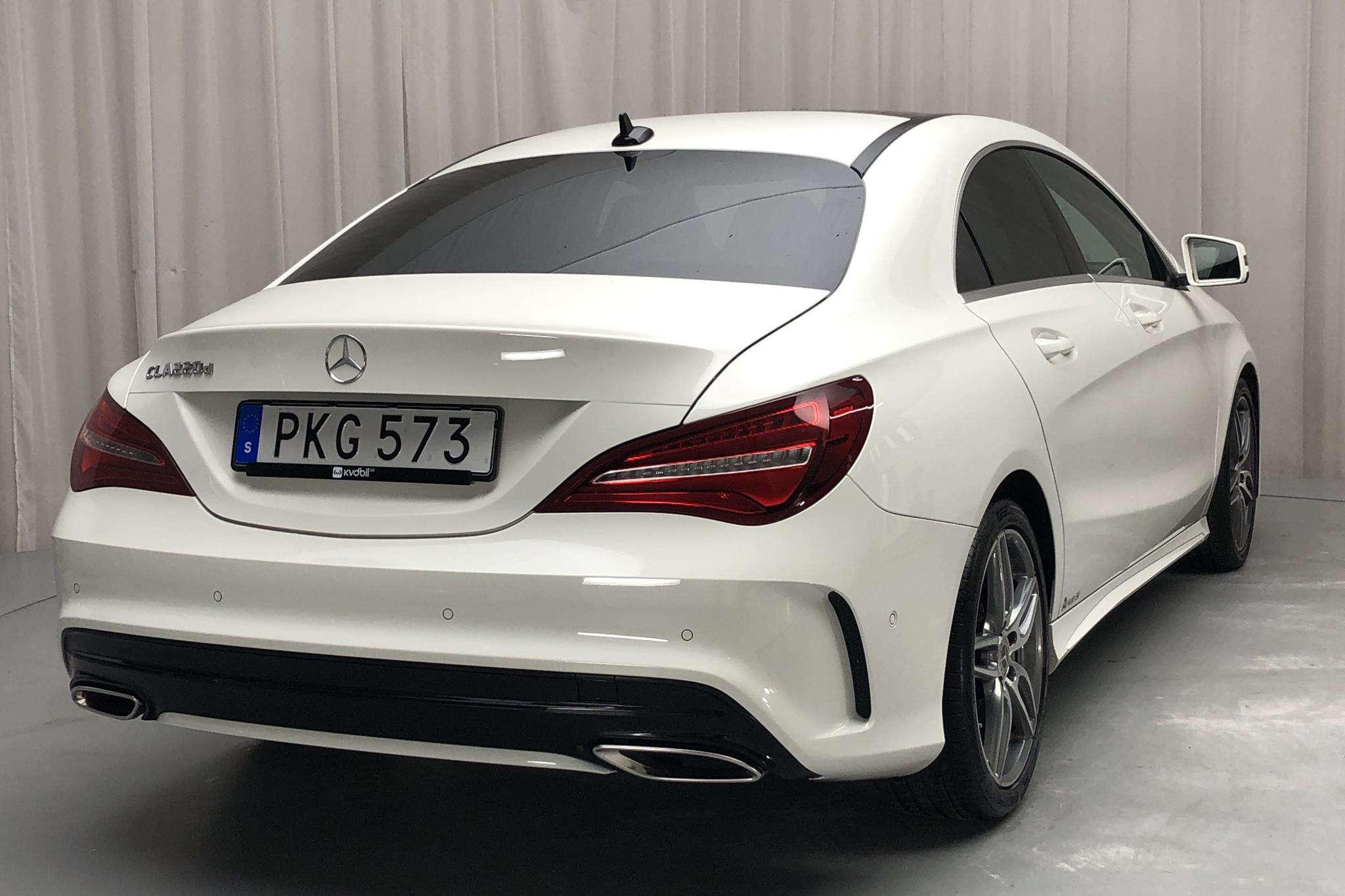 Mercedes CLA 220 d Coupé C117 (177hk) - 4 847 mil - Automat - vit - 2018
