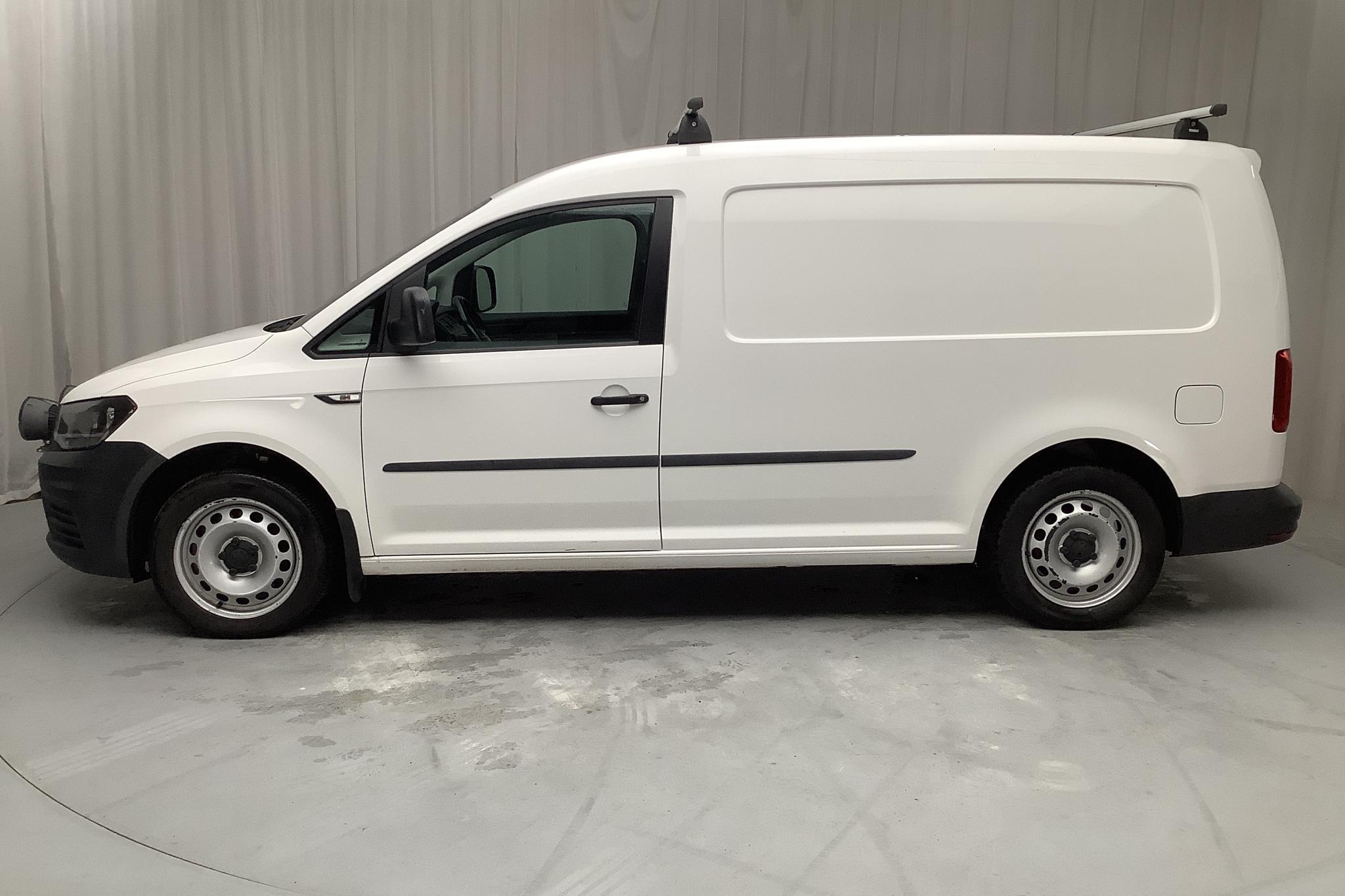 VW Caddy 2.0 TDI Maxi Skåp (150hk) - 128 010 km - Manual - white - 2016