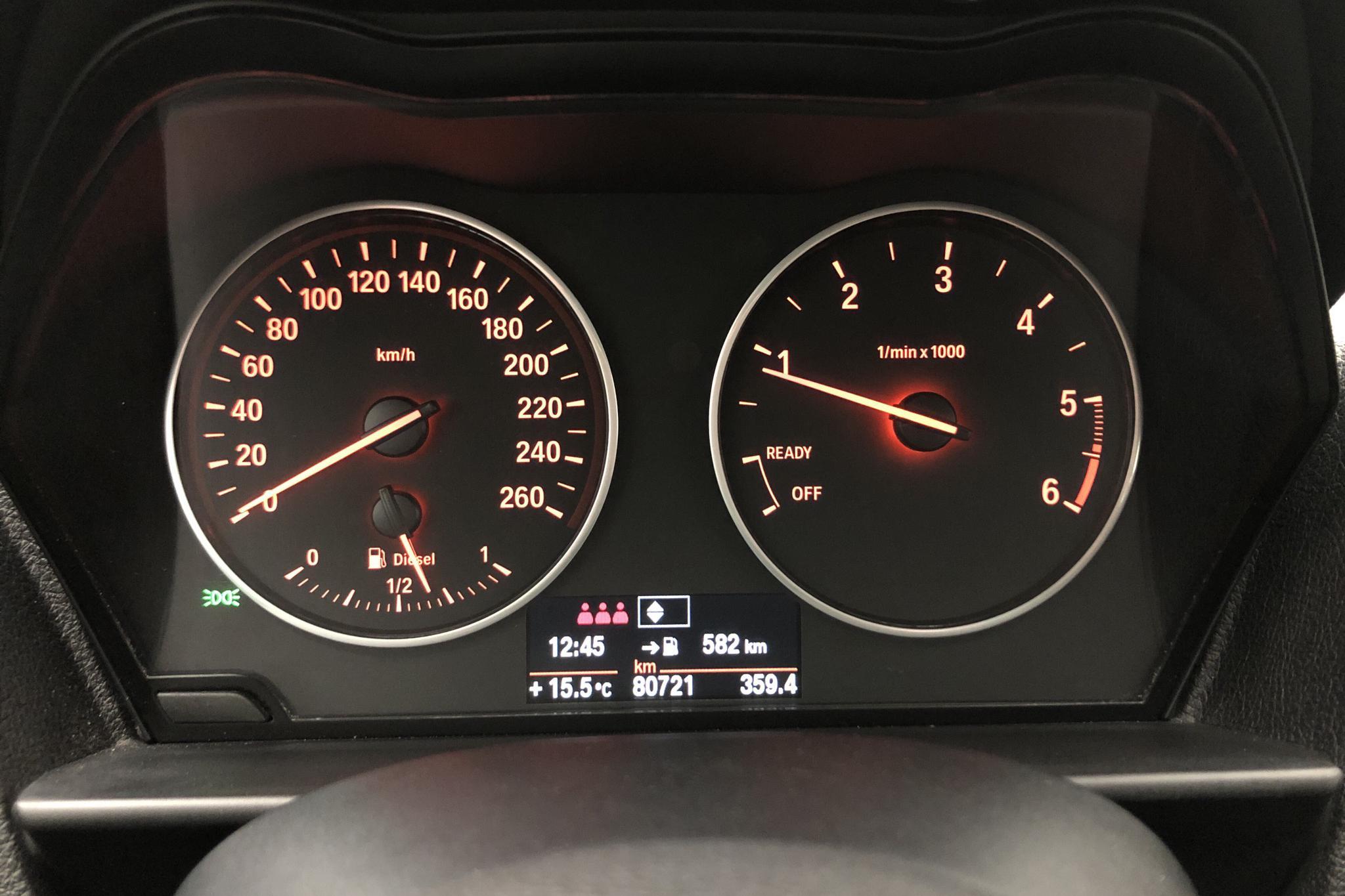 BMW 118d 5dr, F20 (143hk) - 80 710 km - Manual - white - 2012