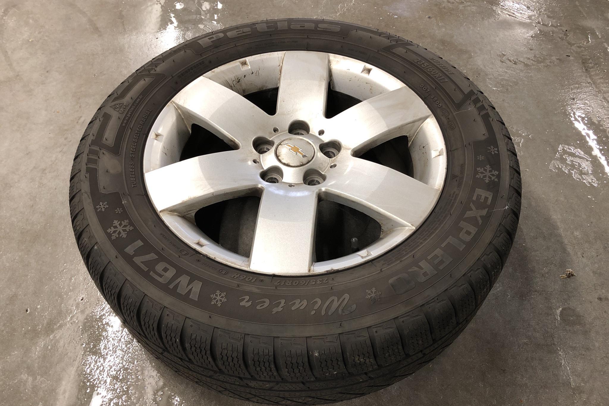Chevrolet Captiva 2.2D 4WD (184hk) - 112 240 km - Automatic - white - 2011