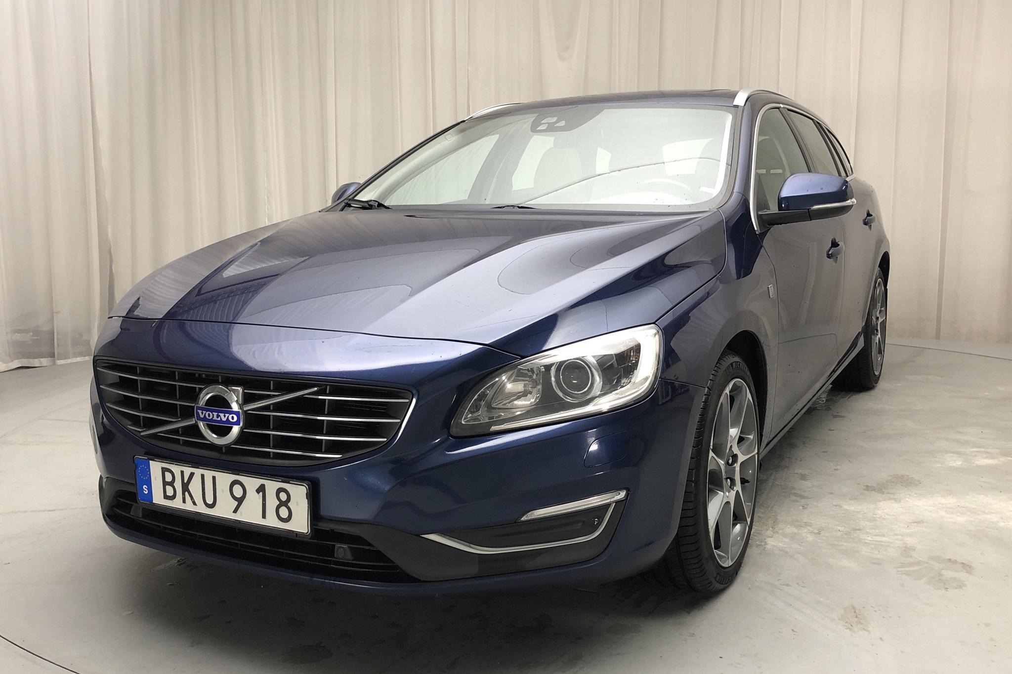 Volvo V60 T5 (245hk) - 215 290 km - Automatic - blue - 2015